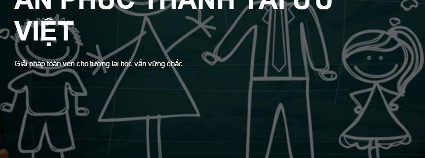 Bảo hiểm mới của AIA mang lại giải pháp vẹn toàn cho tương lai học vấn vững chắc – An Phúc Thành Tài Ưu Việt
