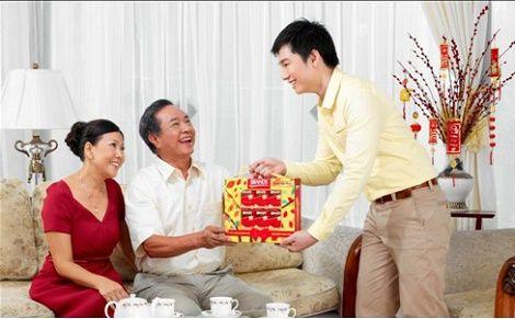Quà tặng cha mẹ