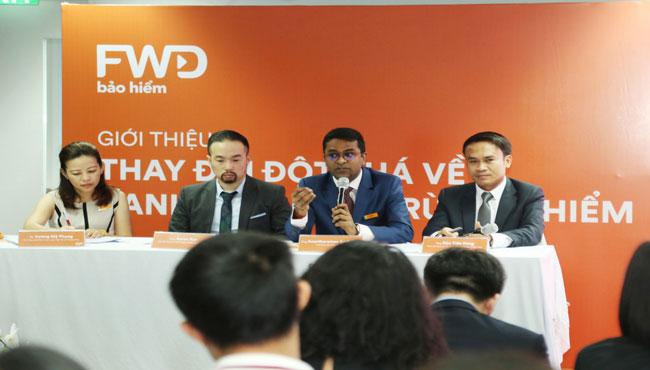 Công ty bảo hiểm nhân thọ FWD Việt Nam