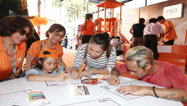 FWD Việt Nam hoạt động xã hội