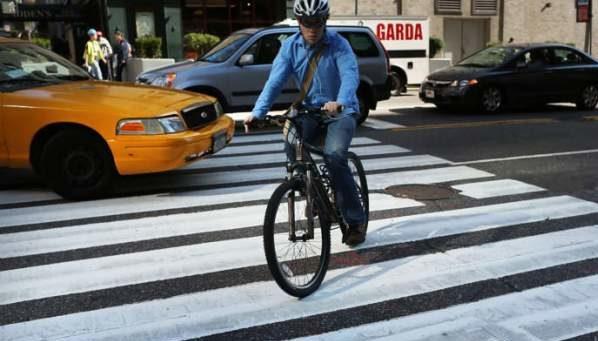 Đi xe đạp chết do tai nạn giao thông ngày càng tăng