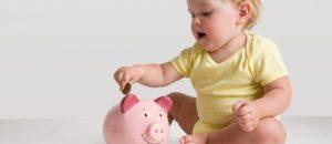 Tiết kiệm cho con ngay khi còn nhỏ
